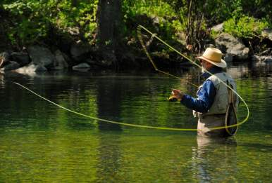 Blue Sky Fly Fishing School