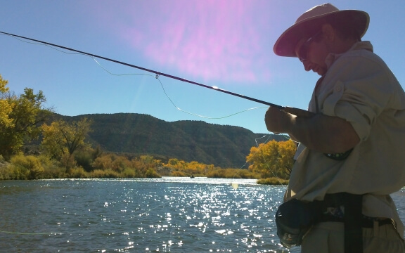 There is no better fishing than drifting the San Juan River.